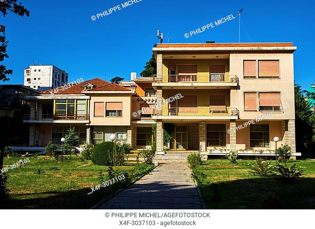 Albania, Tirana, Enver Hoxha's former residence