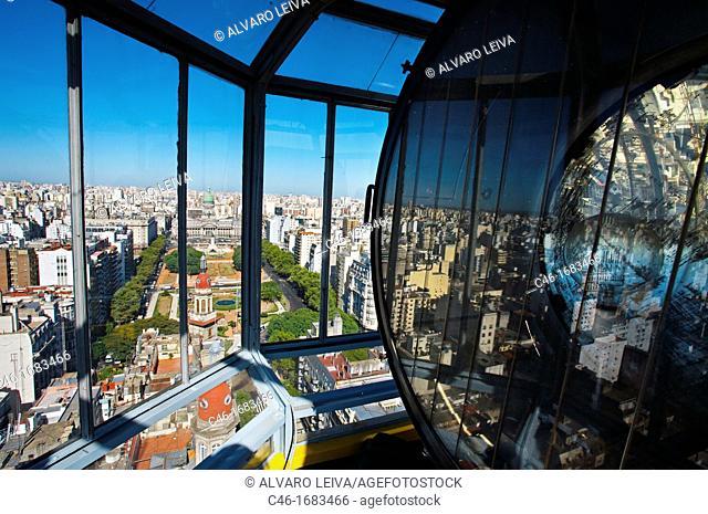 Palacio Barolo, Mayo avenue, Buenos Aires, Argentina