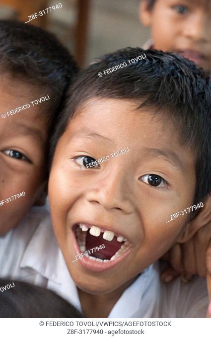 Child from Belen. Peru
