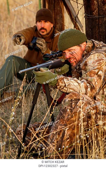 Varmint Hunters Using A Bipod