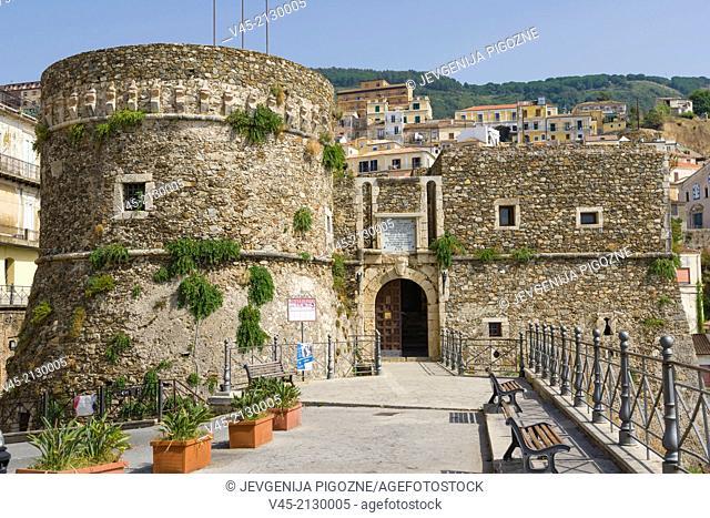 Castello Aragonese di Pizzo Calabro, Aragonese Castle, Pizzo or Pizzo Calabro, Vibo Valentia, Calabria, Southern Italy, Italy