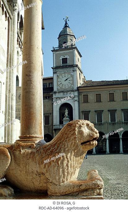 Old town Modena Emilia-Romagna Italy