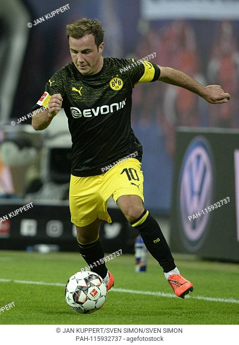 Mario GOETZE (Gv? Tze, DO), Football 1. Bundesliga, 18. matchday, RB Leipzig (L) - Borussia Dortmund (DO) 0: 1, 19/01/2019 in Leipzig / Germany