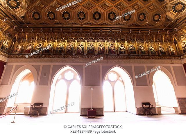 Ventanas del Sala de Reyes, Alcázar de Segovia