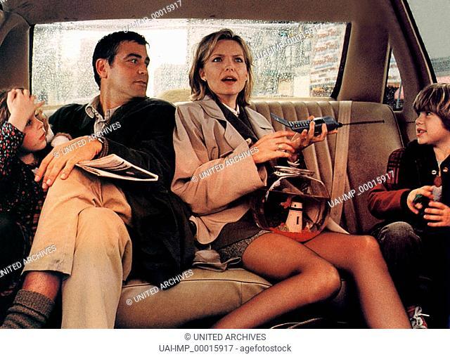 Tage wie dieser ..., (ONE FINE DAY) USA 1997, Regie: Michael Hoffman, MAE WHITMAN, GEORGE CLOONEY, MICHELLE PFEIFFER, ALEX D