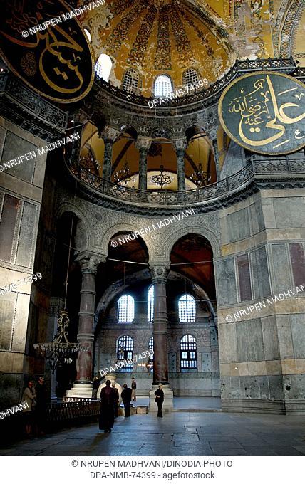 Haghia Sophia , Istanbul , Turkey