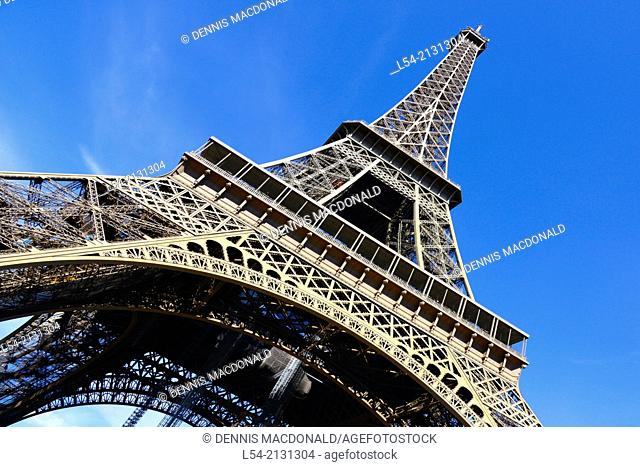 Eiffel Tower Paris France Europe FR City of Lights Gustav