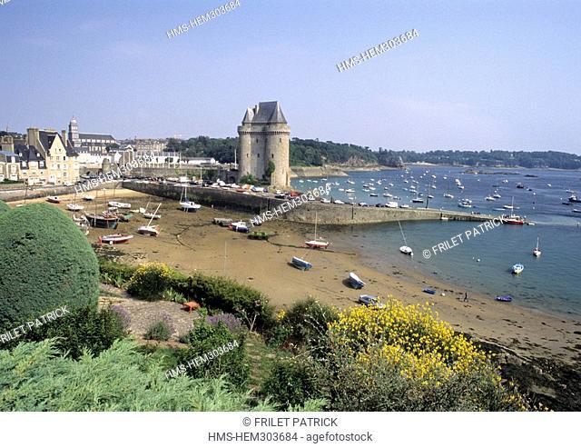 France, Ille et Vilaine 35, Saint Servan, tour Solidor Solidor Tower