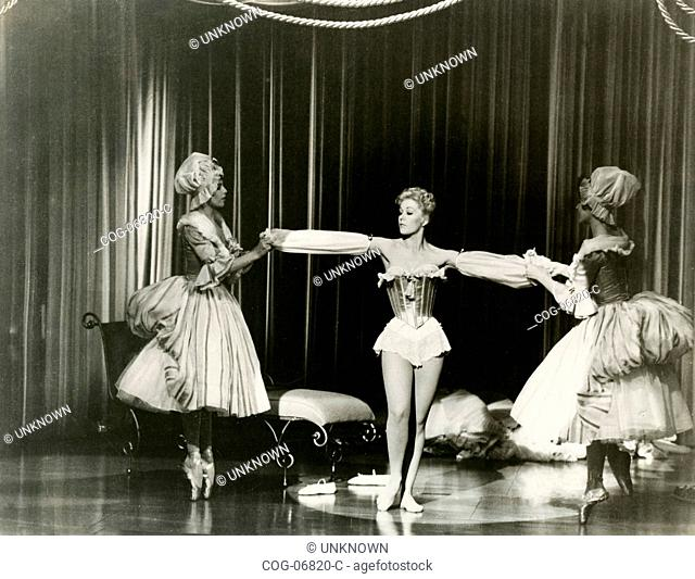The actress Kim Novak in a scene from the film Pal Joey