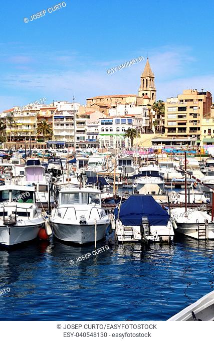 village of Palamos, Costa Brava, Girona province