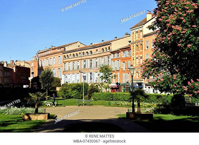France, Haute Garonne, Toulouse, Rue Riguepels