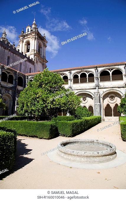 The Monastery of Santa Maria de Alcobaca was founded in 1153 by the Afonso Henriques. It was one of the most powerful abbeys of the Cistercian order