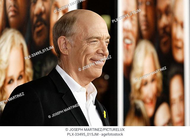 """J.K. Simmons at the Premiere of Warner Bros' """"""""Father Figures"""""""" held at the TCL Chinese Theater in Hollywood, CA, December 13, 2017"""