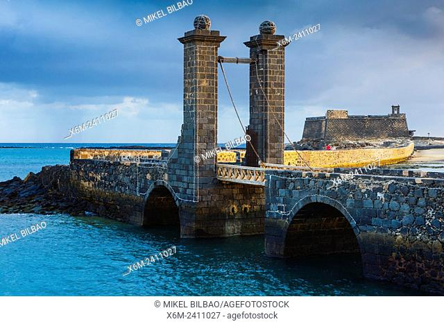Castle of San Gabriel. Arrecife. Lanzarote, Canary Islands, Spain, Europe