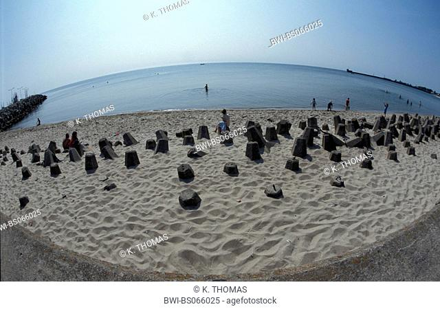 Peninsula Hel, beach, Poland, Pommern, Mierzeja Helska