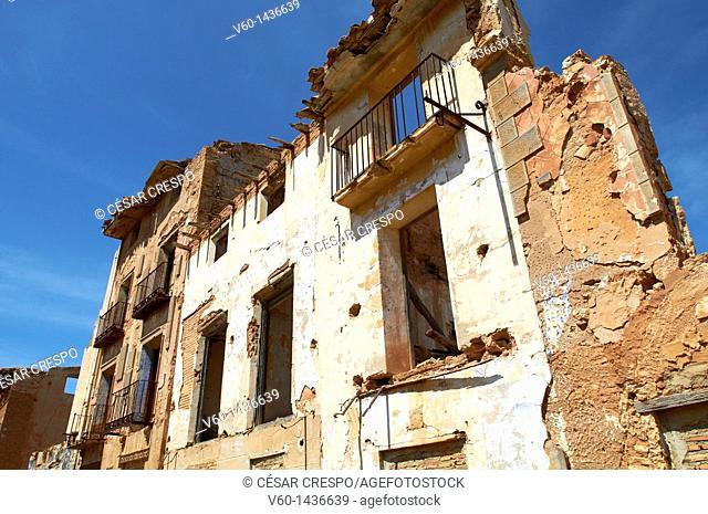 -Facane Belchite's Ruins, Outdoors- Spanish Civil War