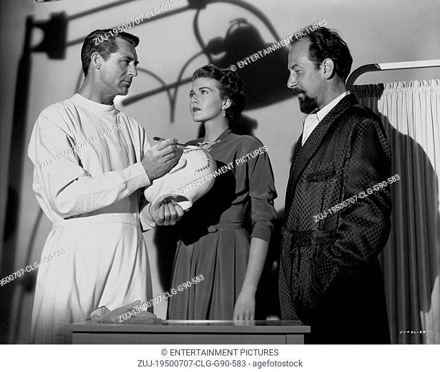 RELEASED: Jul 07, 1950 - Original Film Title: Crisis. PICTURED: CARY GRANT, PAULA RAYMOND, JOSE FERRER. (Credit Image: © Entertainment Pictures/Entertainment...