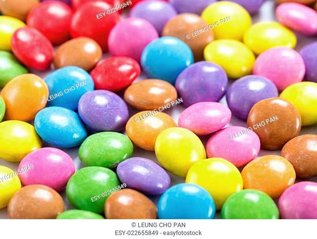 Stack of Colorful candy