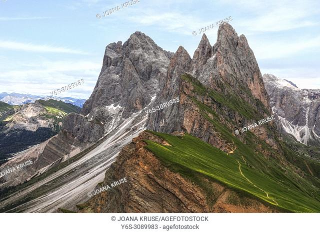 Seceda, Ortisei, South Tyrol, Dolomites, Italy, Europe