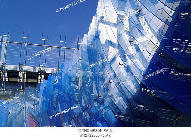90900297, Glass Bridge, Millennium Square, Coventr