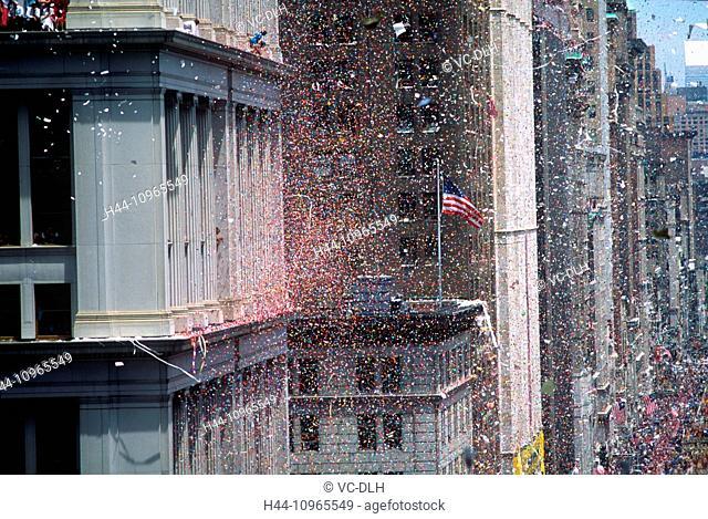 Ticker Tape Parade, New York, New York