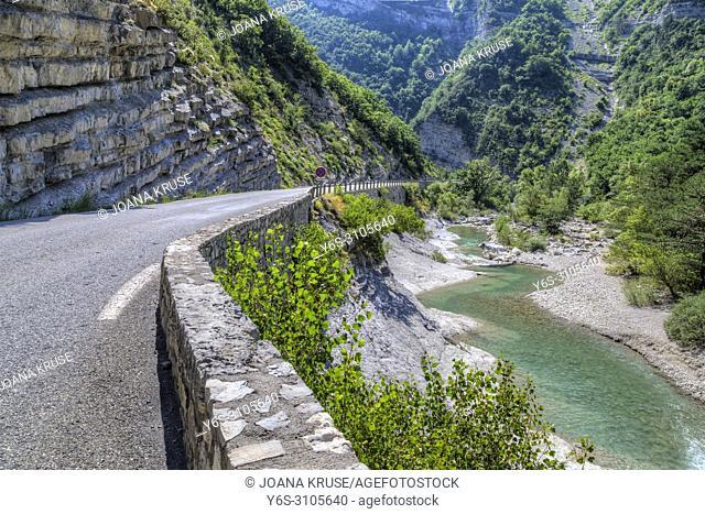 Gorges de la Meouge, Drome, Provence, France
