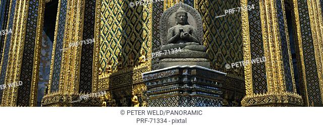 Thailand, Bangkok, Wat Phra Keo, emerald buddha