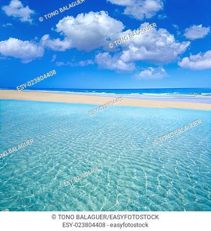 Jandia beach Mal Nombre Fuerteventura at Canary Islands of Spain