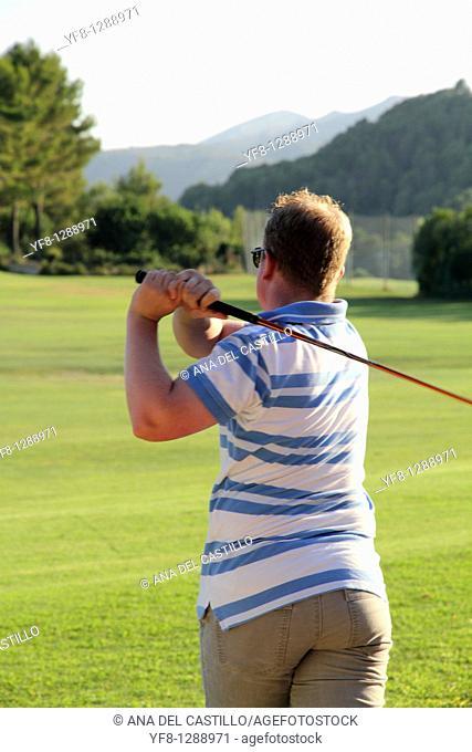 Drive Golf lessons Golf course La Sella Denia Alicante Spain