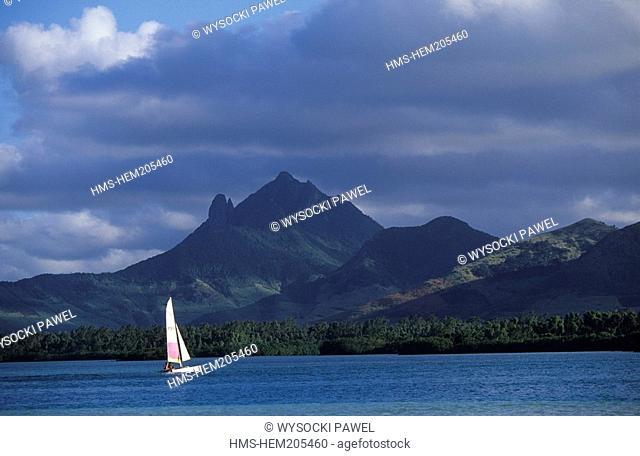 Mauritius, Ile aux Cerfs bay
