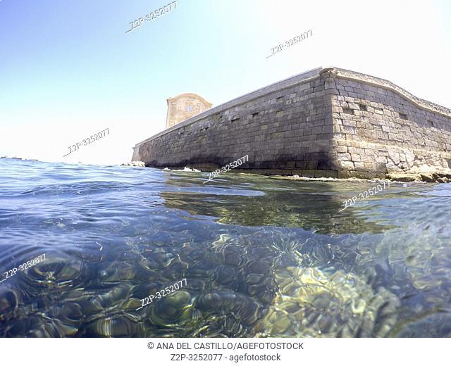Snorkeling in Tabarca island Alicante province Spain