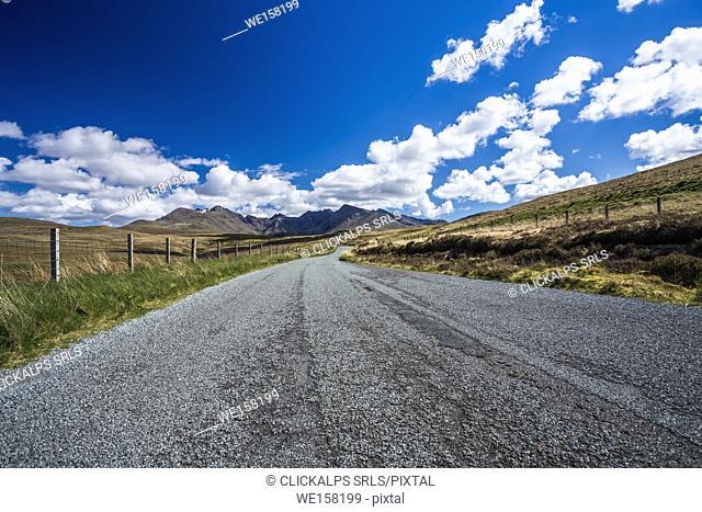 Cullin Mountains, Isle of Skye, Scotland, UK