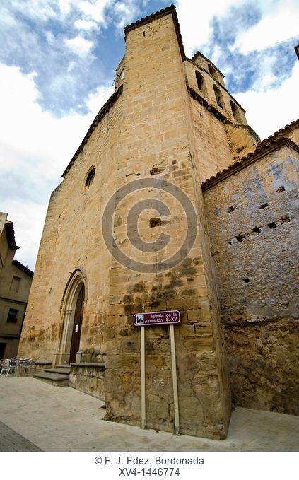 Asunción Chuch S XV  Ráfales  Matarraña, Teruel  Aragon, Spain