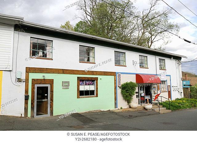 A building in Shelburne Falls, Massachusetts, United States, North America