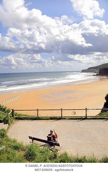 Langre beach, Cantabria region, Spain