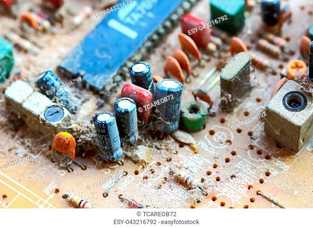 Manufacturing circuit board industry Stock Photos and Images