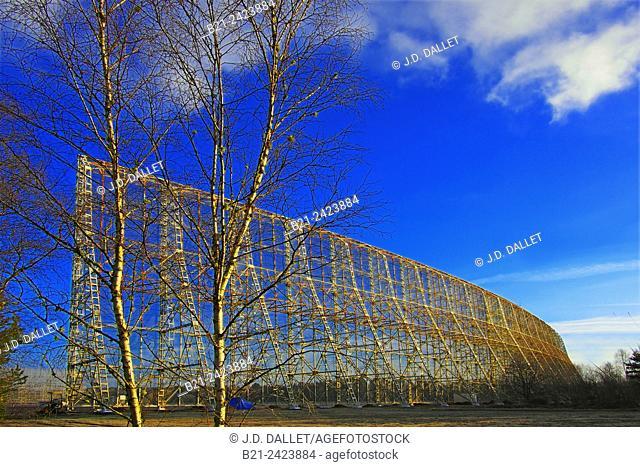 Radio Astronomic Station in the Sologne forest, Nancay, Cher, Centre-Val de Loire, France