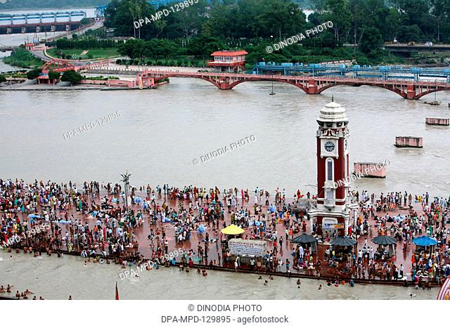 Har Ki Pauri literally means Footsteps of the Lord is considered the most sacred Ghat of Haridwar, a holy city of Hindus is situated on the banks of river Ganga...