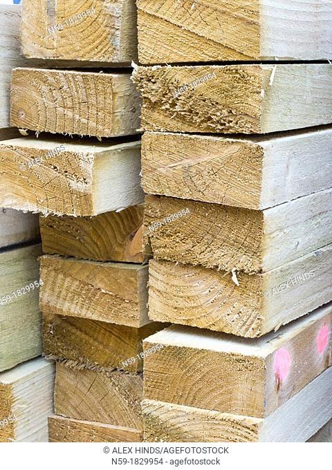 Timber bearer joists building materials