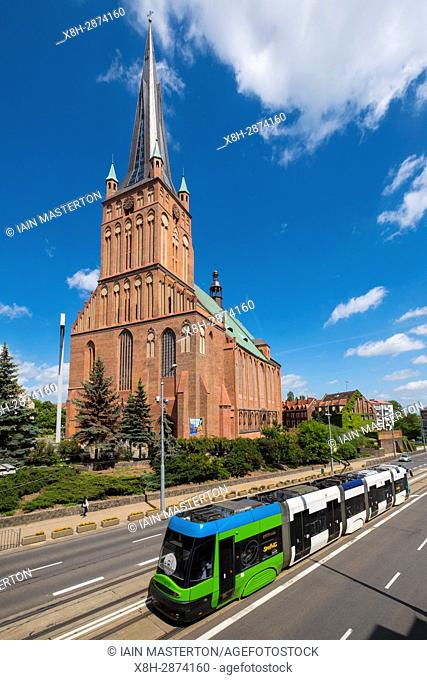 Cathedral Basilica of St. James the Apostle in Szczecin, Poland