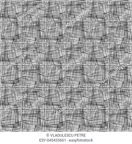 pattern with horizontal and vertical black lines