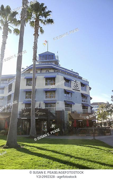 Waterfront Hotel, Jack London Square, Oakland, California, United States