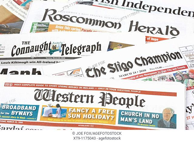 west of republic of ireland local and regional newspapers