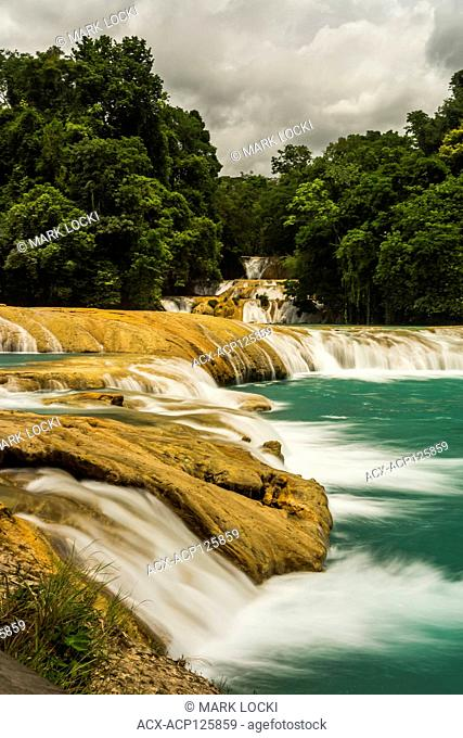 Waterfalls at Agua Azul, Chiapas, Mexico