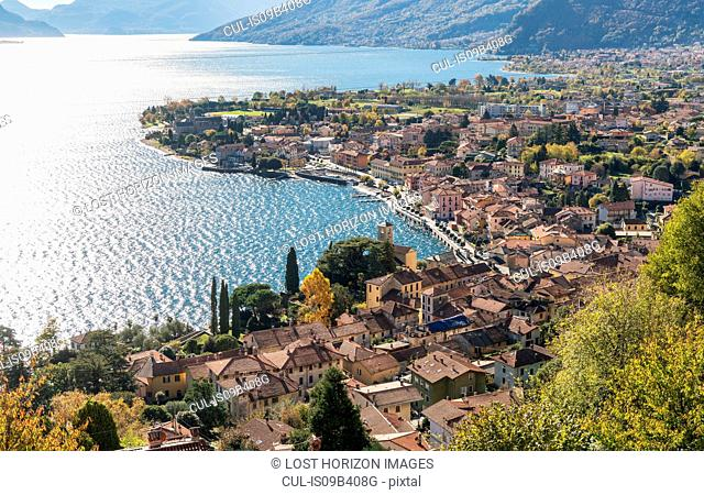 Village of Gravedona on Lake Como, Lombardia, Italy