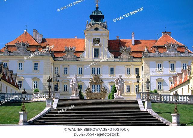 Liechtenstein Residence. Baroque Chateau. Valtice. South Moravia. Czech Republic