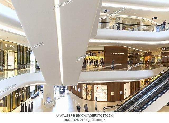 Thailand, Bangkok, Siam Square Area, Central Embassy shopping mall, interior