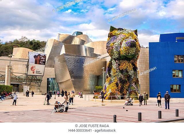 Bilbao City, Frank Gehry architect, Gugenheim Museum, spain, Vasc Country