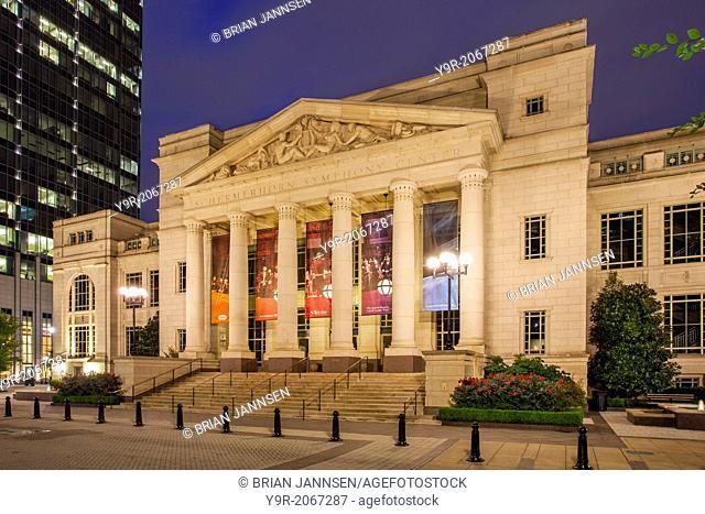 Schermerhorn Symphony Center - concert hall in Nashville Tennessee, USA