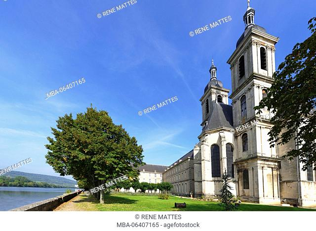France, Meurthe et Moselle, Pont a Mousson, the Premontes abbey, the church